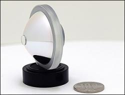 Óptica de Olympus con ángulo de visión de 360 grados