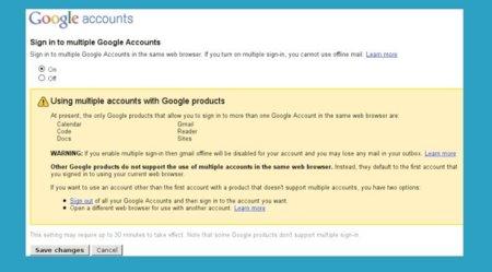 Pronto podremos utilizar varias cuentas de Google en un mismo navegador