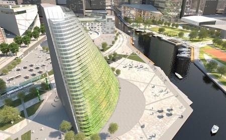 Suecia ya prepara su primer invernadero vertical: 4.335 m² de cultivo en una superficie de sólo 430 m²