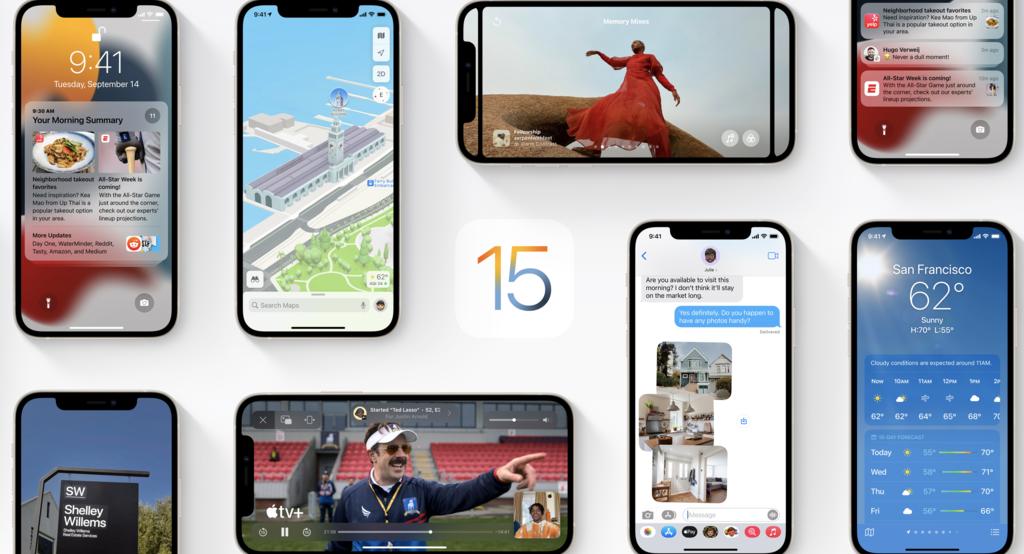 iOS 15, watchOS 8 y tvOS 15 llegarán el próximo 20 de septiembre
