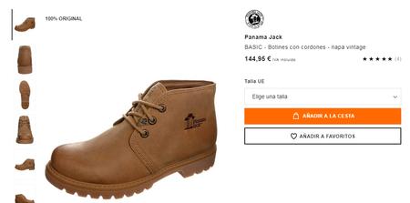 f5aee726154 En esta web también las podemos encontrar en color marrón, cuenta con muy  buenas valoraciones, y aunque su precio es casi el mismo que el oficial de  144,95€ ...