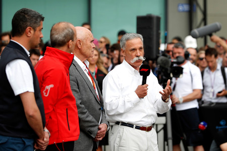 Chase Carey F1 2020