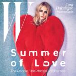 Desde W con mucho amor: Cara Delevingne vuelve a las portadas de moda