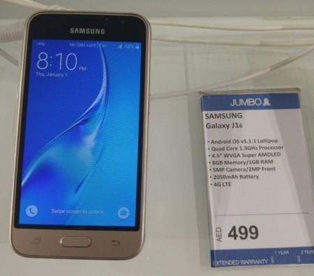 De las filtraciones directo a la tienda, el Samsung Galaxy J1 llega de manera silenciosa