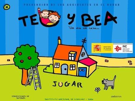 Teo y Bea, juego online para prevenir los accidentes domésticos