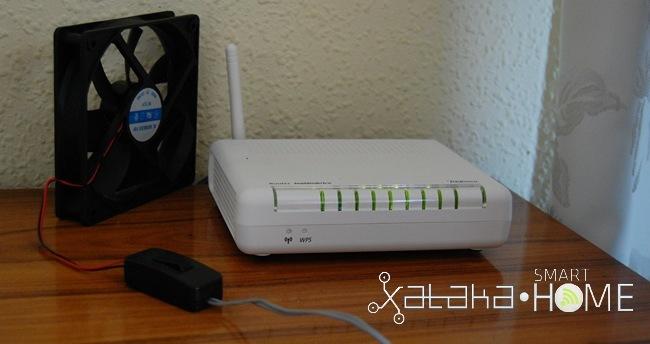 ventilador router
