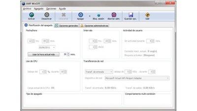Programa el apagado de tu ordenador con AMP WinOFF