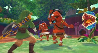 Tenemos 'The Legend of Zelda' con control de movimiento para rato