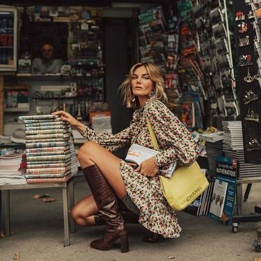 El vestido camisero es un clásico en otoño: 13 compras clave que podrás llevar con sneakers, botas o taconazos