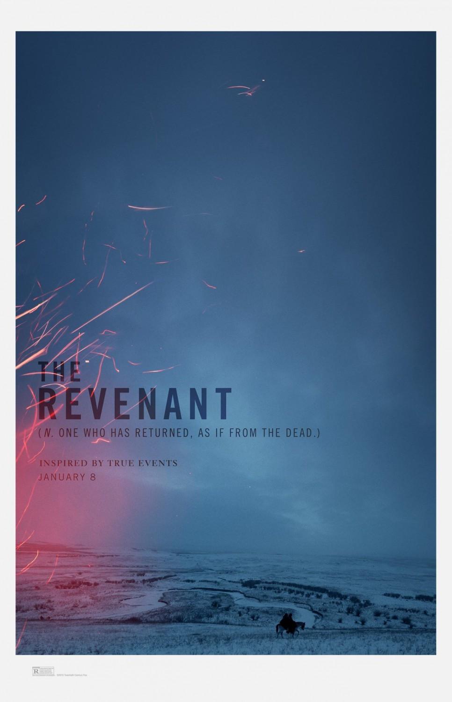 Foto de 'El renacido (The Revenant)', los carteles de la película (1/5)