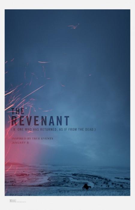 'El renacido (The Revenant)', los carteles de la película