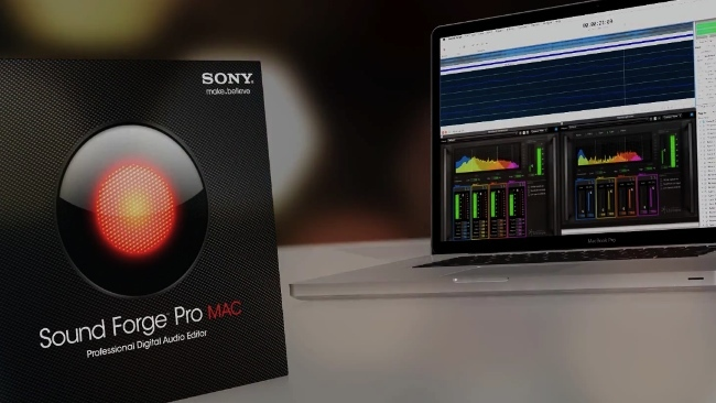 sound forge pro sony apple
