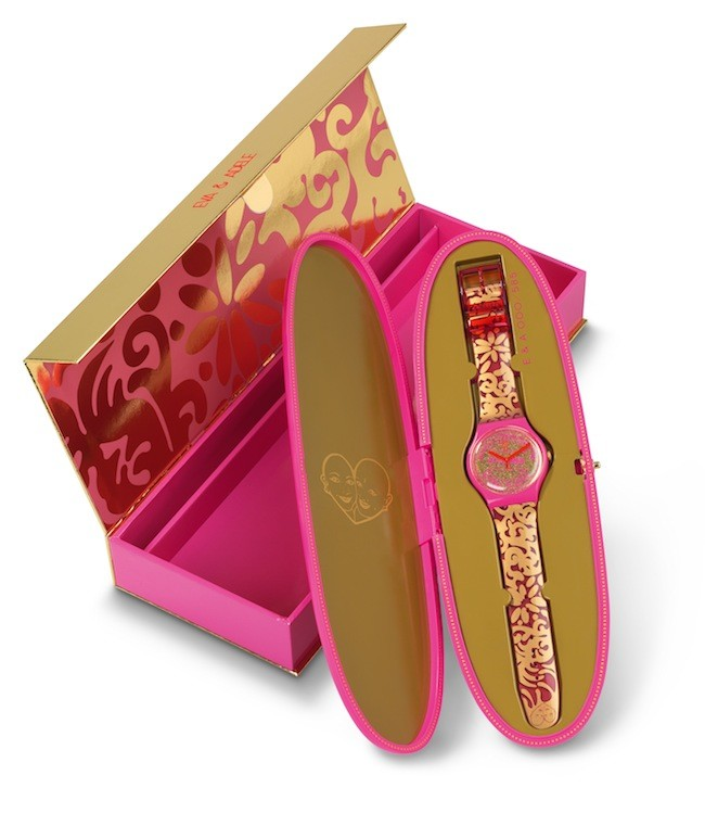 Swatch Eva And Adele Suoz200s Packaging Open Press