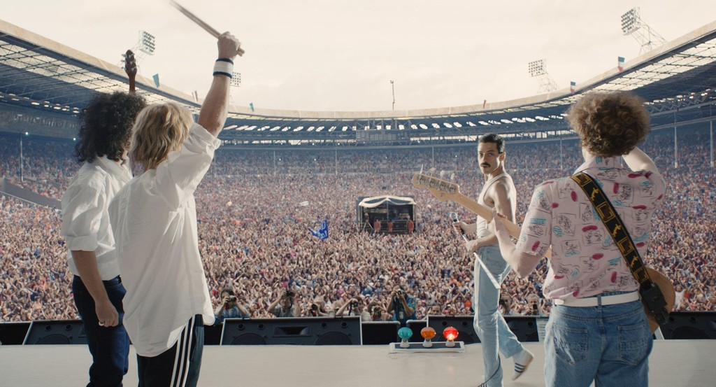 'Bohemian Rhapsody' is crowned as the biopic musical house of history