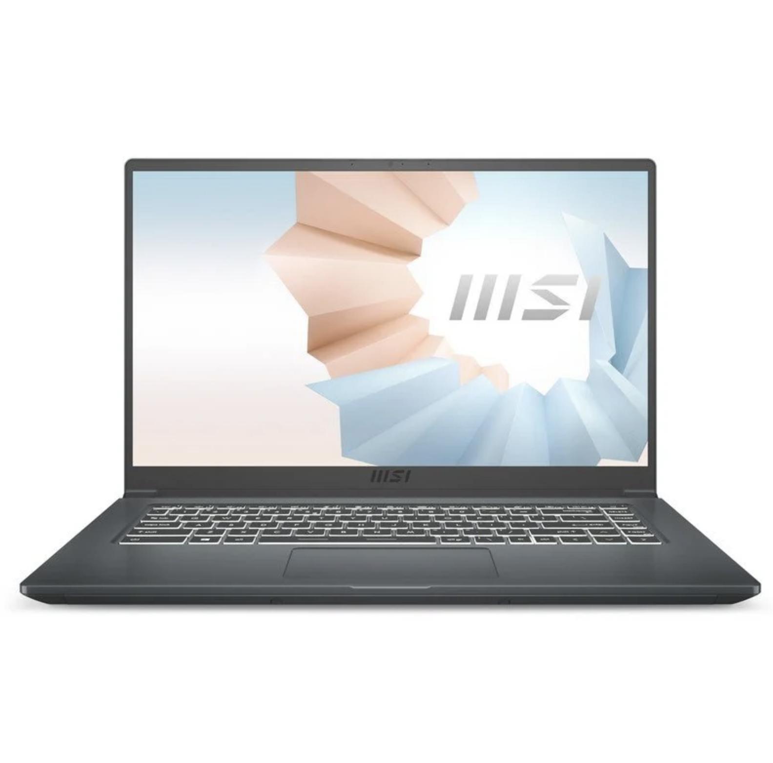 "MSI Modern 15 A11SB-011ES Intel Core i7-1165G7/16GB/1TB SSD/MX450/15.6"""