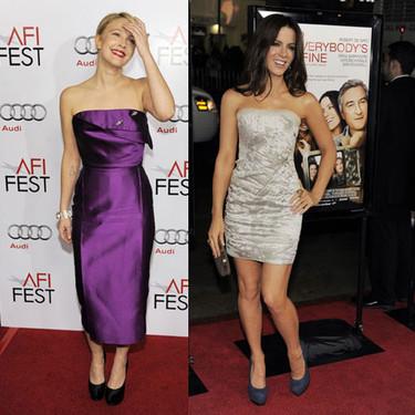 El estilo de Drew Barrymore y Kate Beckinsale para ir de premiere