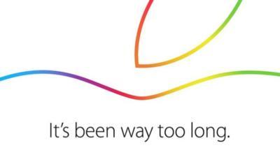 'Its been way too long' Apple confirma el evento del 16 de octubre