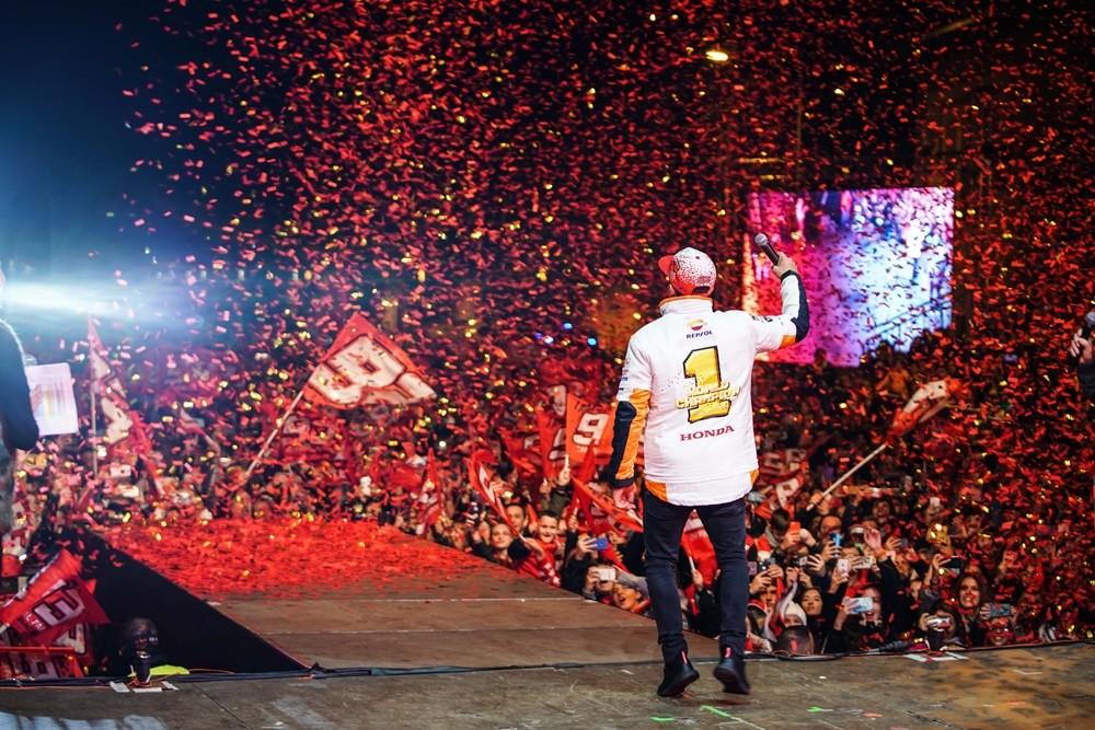 Foto de Celebración del séptimo título de Marc Márquez (12/12)