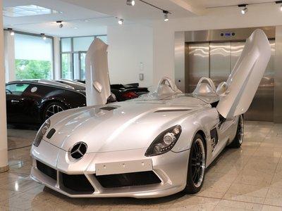 Este Mercedes-Benz SLR Stirling Moss casi único puede ser tuyo, aunque no sabemos cuánto te pedirán por él