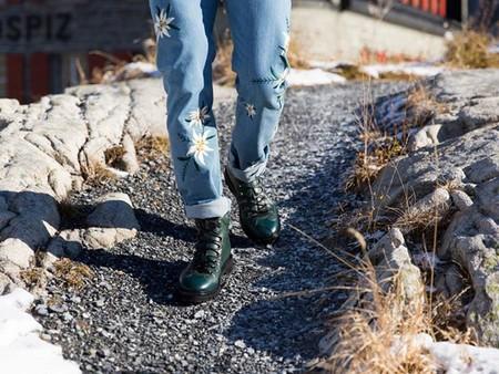 Del Everest a las aceras del lujo moderno: bota Charls de Bally