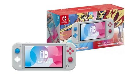 ¿Fan de Pokémon? La Nintendo Switch Lite Zacian Zamacenta, ahora en eBay por 208,45 euros con el cupón PDESCUENTO5