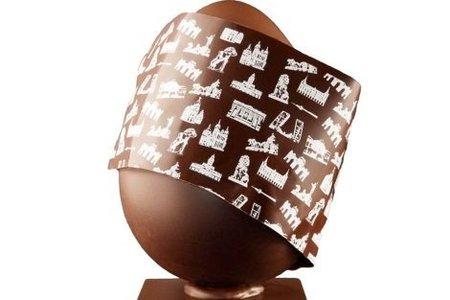 Los huevos de chocolate viajeros de Oriol Balaguer