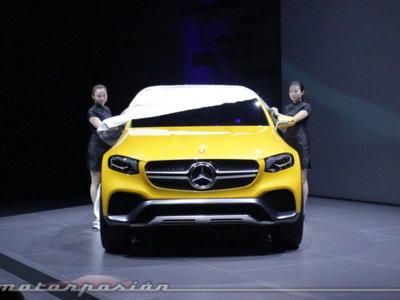 Mercedes-Benz GLC Coupé, un 'séptimo magnífico' que cabalga por China
