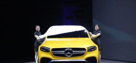Mercedes-Benz Concept GLC Coupé, un 'séptimo magnífico' que cabalga por China