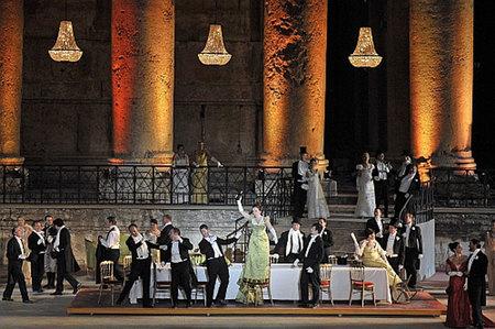 La Traviata en Baalbek