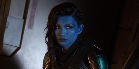 Captain Marvel Gemma Chan Minn E