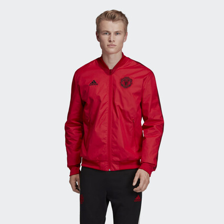 Chaqueta Himno Manchester United Rojo Dx9077 21 Model