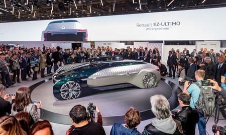Los 54 lanzamientos del Auto Show de París 2018, a un clic