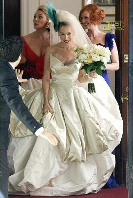 El vestido de novia de Carrie Bradshaw