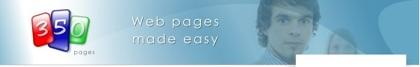 350 pages, creando nuestro sitio web en segundos