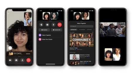 Messenger estrena una función que permite ver vídeos de Facebook Watch con amigos a través de videollamadas