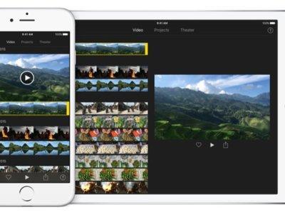 iMovie para iOS por fin añade soporte para editar 4K en iPad Air 2