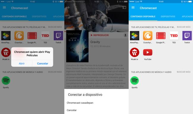 Chromecast Capturas App