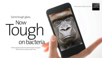 Corning presenta Antimicrobial, su cristal para protegernos de las bacterias