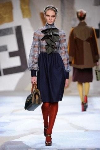 Fendi Otoño-Invierno 2011/2012 en la Semana de la Moda de Milán