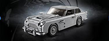 El Aston Martin DB5 de James Bond, por fin llega en forma de un kit LEGO