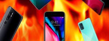 Así es el iPhone SE 2020 comparado con smartphones Android de precio similar