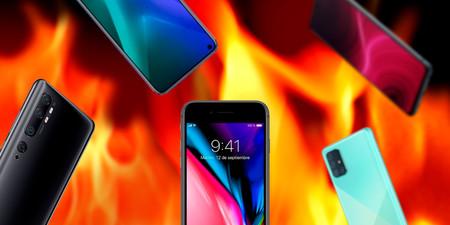Así es el iPhone SE (2020) comparado con smartphones Android de precio similar