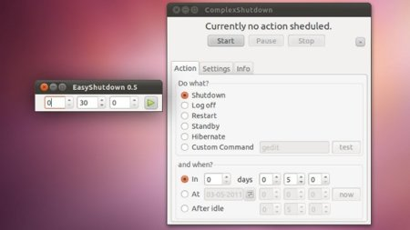 Apaga tu ordenador de manera gráfica en Ubuntu tras un periodo de tiempo