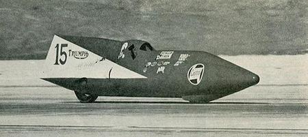 Triumph T120 Dudek Streamliner