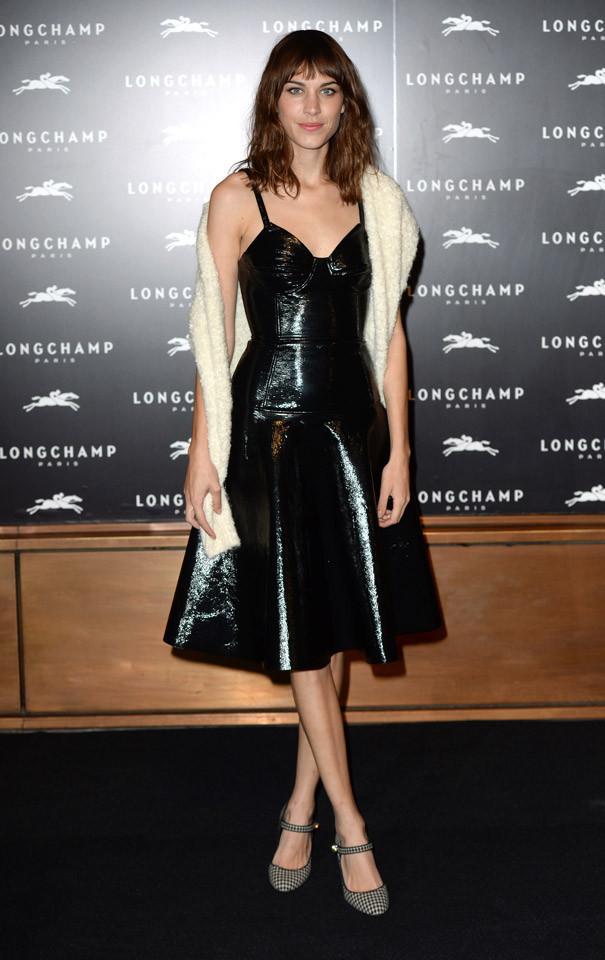Alexa Chung Londres Semana Moda