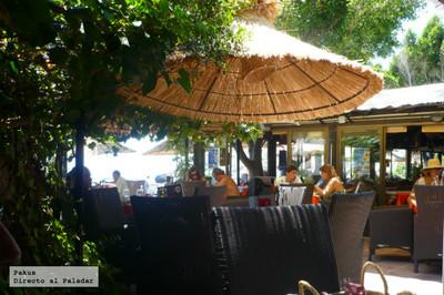 Restaurante La Barraca. Delicioso rincón secreto en la playa de Almuñecar