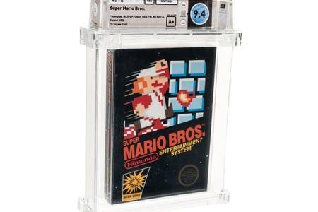 Este cartucho de 'Super Mario Bros.' rompe el récord del juego más caro de la historia al subastarse en 114,000 dólares