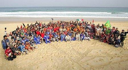 El Dakar debía llegar hoy al Lago Rosa