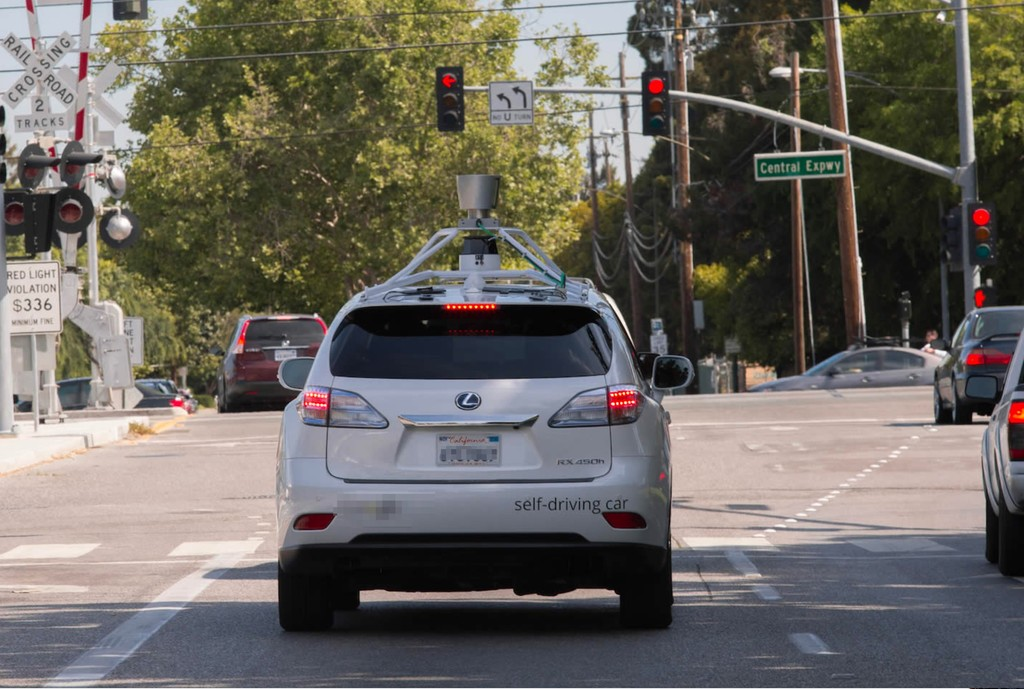 Self Driving Lexus Testing Silicon Valley
