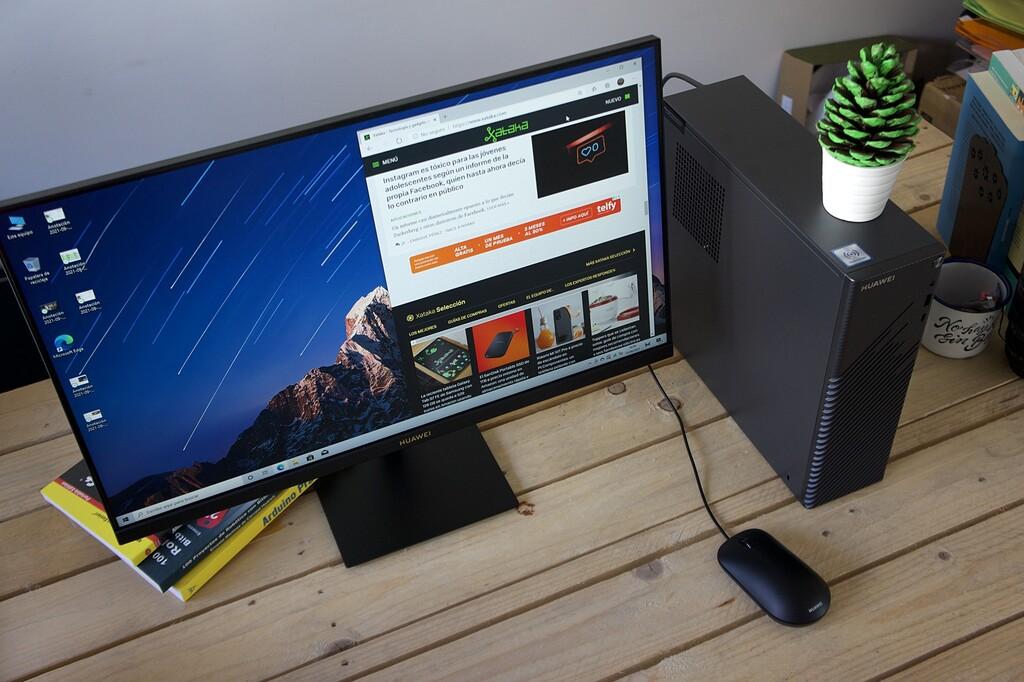 Huawei MateStation S, análisis: la resistencia al portátil como ordenador de casa empieza así